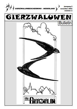 GBN Bulletin 2003 2 voorkant klein